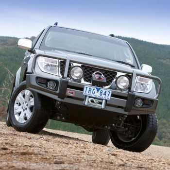 Pare-choc ARB avec support de treuil Nissan Navara D40 - Pathfinder R51