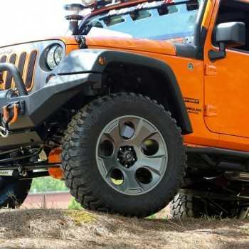 Jante RUGGED RIDGE 9X17 DRAKON noire Jeep Wrangler JK 2007-