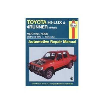 Revue automobile HAYNES Toyota Hilux (79-96)