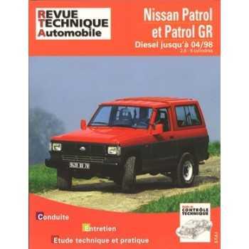 Revue technique Nissan Patrol et patrol GR de 1989 à 1998