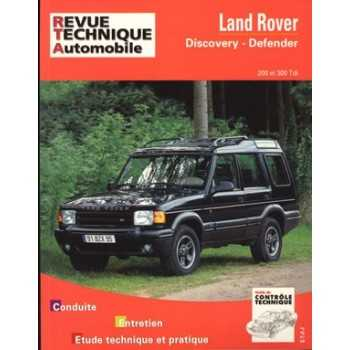 REVUE TECHNIQUE LAND DEFENDER-DISCOVERY 200 ET 300 TDI