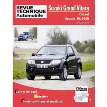 REVUE TECHNIQUE SUZUKI GRAND VITARA 4 cyl DIESEL 1,9L DDIS 01-2006-