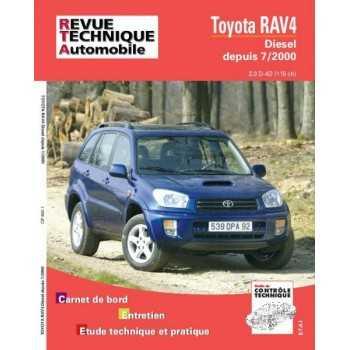 Revue technique Toyota Rav 4 07/2000-10/2003