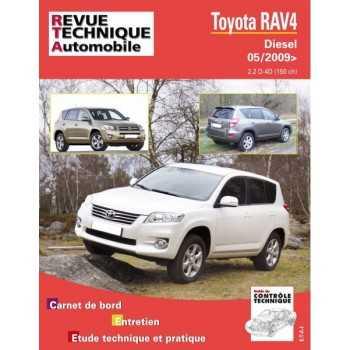 REVUE TECHNIQUE TOYOTA RAV 4 III (150) DEPUIS 05-2009