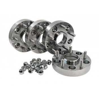 Elargisseur de voie aluminium 30 mm Ssangyong Korando 2.0 XDI 01/2011+