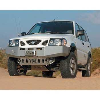 Pare chocs ASFIR avec support de treuil Nissan Terrano II 02-