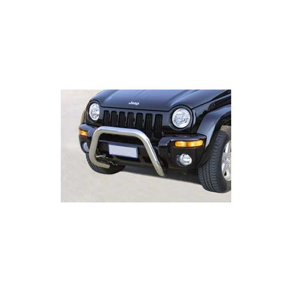 SUPER BAR INOX 76MM JEEP CHEROKEE 2001-2007