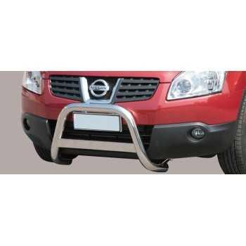 Medium bar inox 63 mm Nissan Qashqai 2007-2010