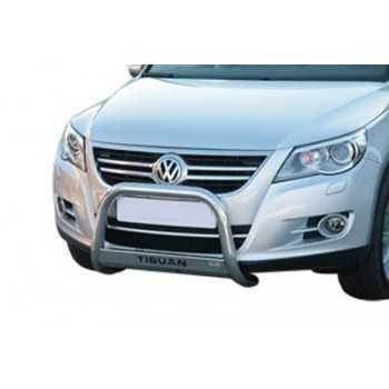 Medium bar inox 63 mm avec la marque Volkswagen Tiguan 2008-
