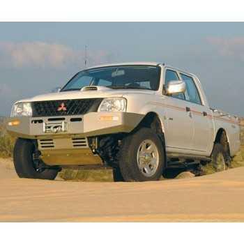 Pare chocs ASFIR avec support de treuil Mitsubishi L200 1998-2001