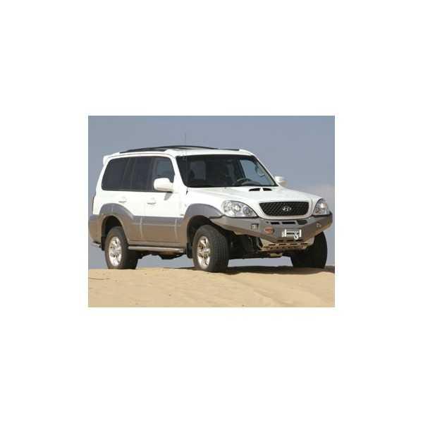 Pare choc ASFIR avec support de treuil Hyundai Terracan 2001-2006