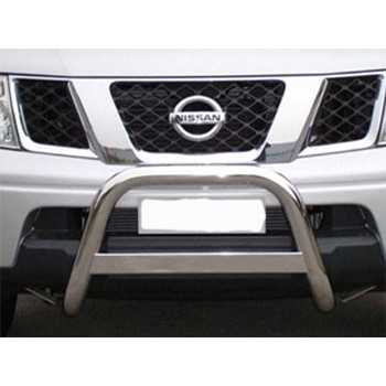 Medium bar inox 63 mm NISSAN NAVARA D40 2005-