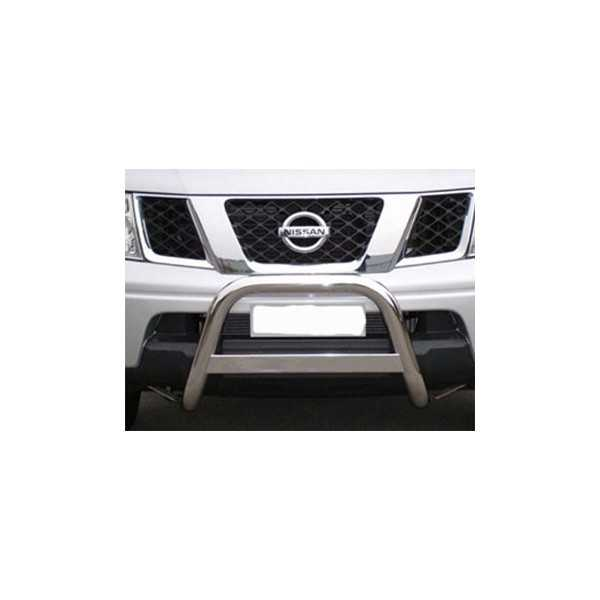 Medium bar inox 63 mm Nissan Navara D40 2005-2010