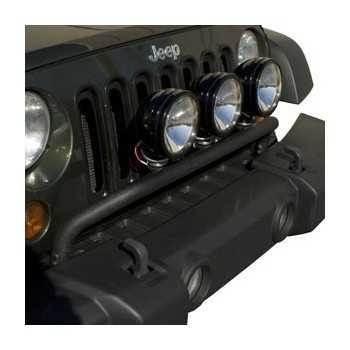 Support de phare noir Jeep Wrangler JK 2007 à 2018
