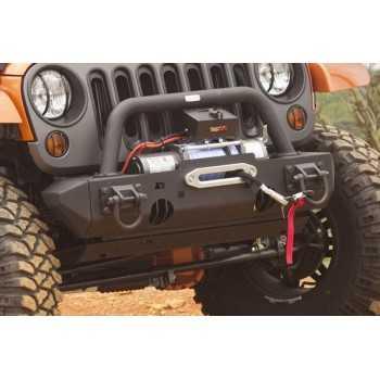 Embout de pare chocs noir etroit Jeep Wrangler JK 2007-2018