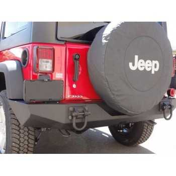Support de plaque d'immatriculation us Jeep Wrangler JK 2007-2018