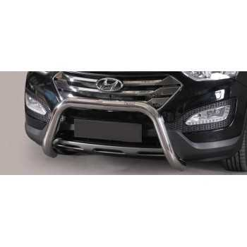 SUPER BAR INOX 76MM HYUNDAI SANTA FE 12- HOMOLOGUE CE