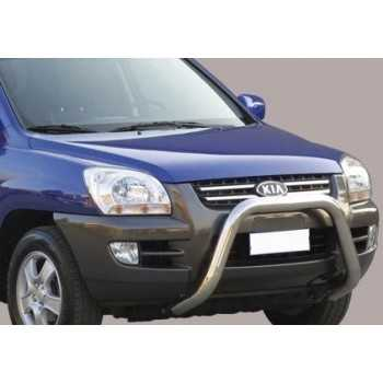 SUPER BAR INOX 76MM KIA SPORTAGE 04-08