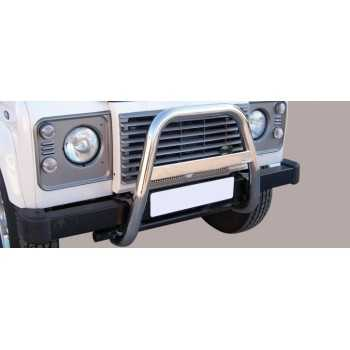 Big bar 63 mm inox Land Rover Defender 110