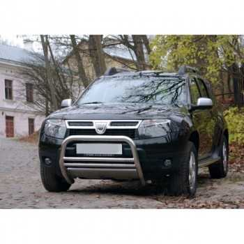 Medium bar inox 60 mm Dacia duster 2010-2016