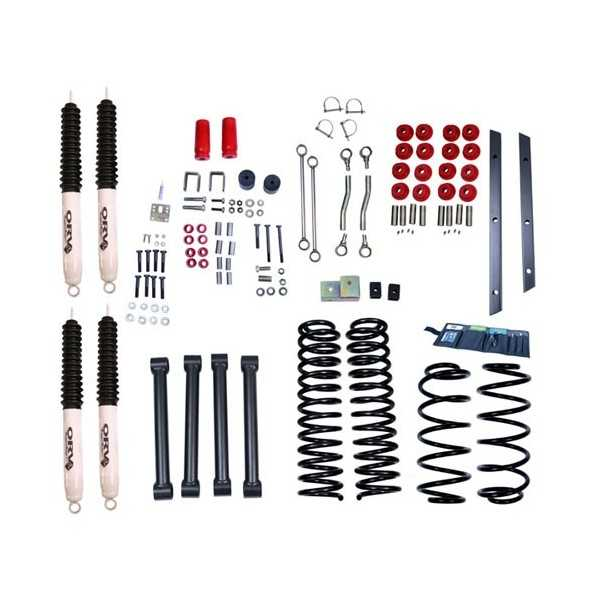 KIT SUSPENSION RUGGED RIDGE 100 MM JEEP WRANGLER TJ 1997-2002