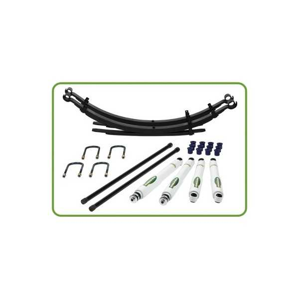 KIT SUSPENSION IRONMAN MITSUBISHI L200 DE 91 à 2005 RESPONSE MEDIUM