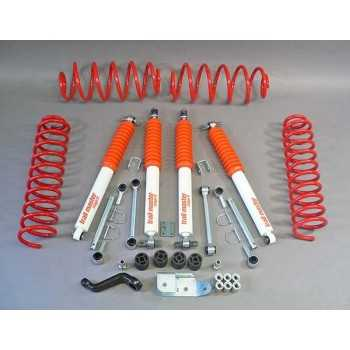 KIT SUSPENSION TRAIL MASTER 100 MM JEEP WRANGLER TJ 6 CYL. 96-02