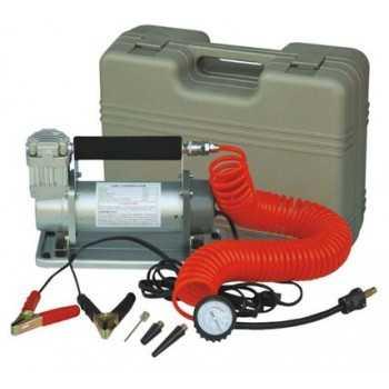 Compresseur d'air puissant 12 V 90 L/min