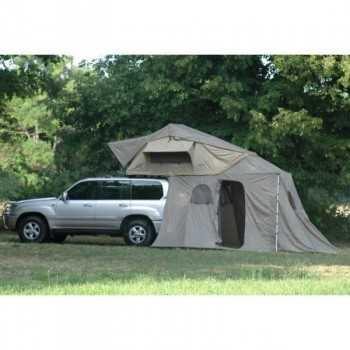 Tente de toit ORYX 220 (echelle alu télescopique et auvent inclus)