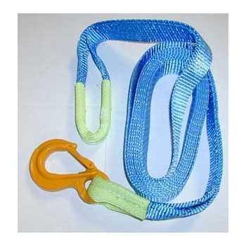 Sangle boucle-crochet 5 M 6 tonnes