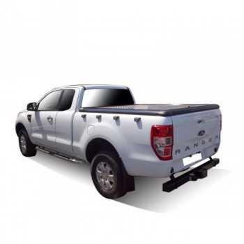 Tonneau cover aluminium Ford Ranger super cab 2012-