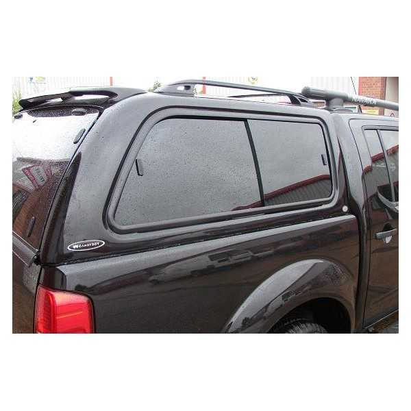 Hard top CARRYBOY blanc Mitsubishi L200 CLUB CAB 1997-2006