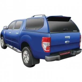 HARD TOP SLINE GLS A-VITRES LATERALES PAPILLONS FORD RANGER SUPER CAB 2012-