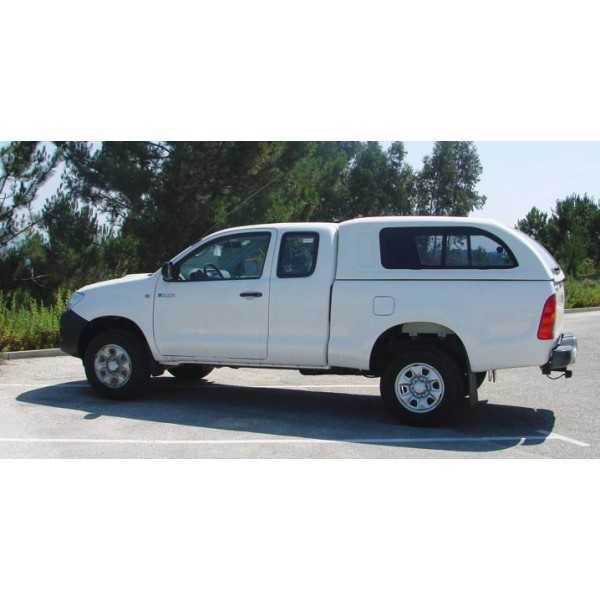 Hard top STAR-LUX avec vitre laterales Toyota Hilux Xtracab 2005-2015
