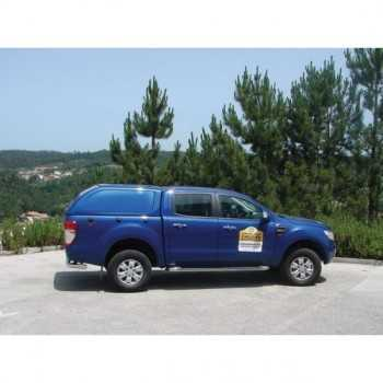 Hard top star-lux s/vitres latérales Ford Ranger 2012+ 4 portes