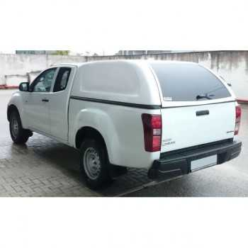 Hard top Star-lux s/vitres laterales Isuzu D-Max space cabine 03/2017+ 2 portes