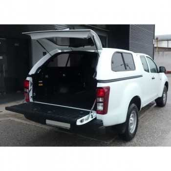 Hard top star-lux ISUZU D-MAX SPACE CABINE 03-2017+ AVEC VITRES LATERALES