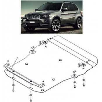 Blindage moteur aluminium BMW X5 4.8L 2007-