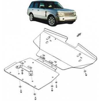 Blindage moteur aluminium Land Rover Range Rover 2002-2013