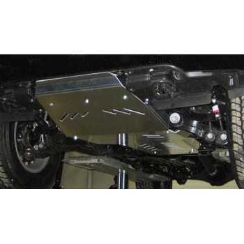 Blindage moteur aluminium LEXUS LX570 2007-