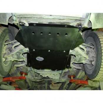 Blindage moteur acier Nissan Terrano II 1993-2007