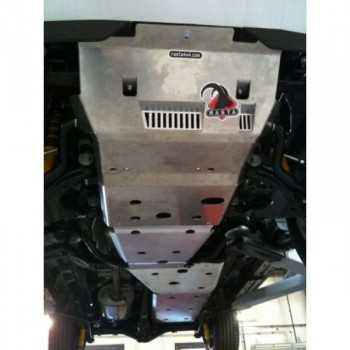 Blindage aluminium RASTA complet AV et AR Toyota Hilux 2005+