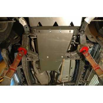 Blindage acier bv+bt Volkswagen Amarok 2010+