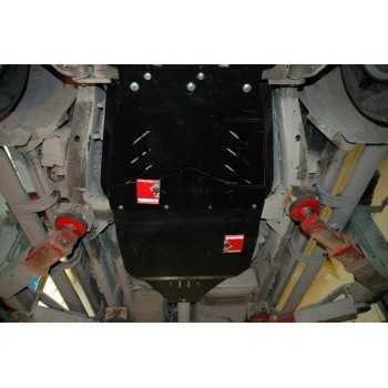 Blindage aluminium bv+bt Nissan Navara D40 et Pathfinder R51 07-2005+