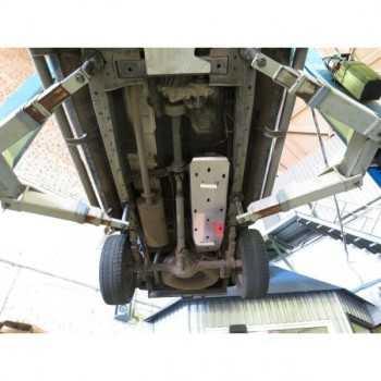 Blindage aluminium reservoir Ford Ranger 2012-