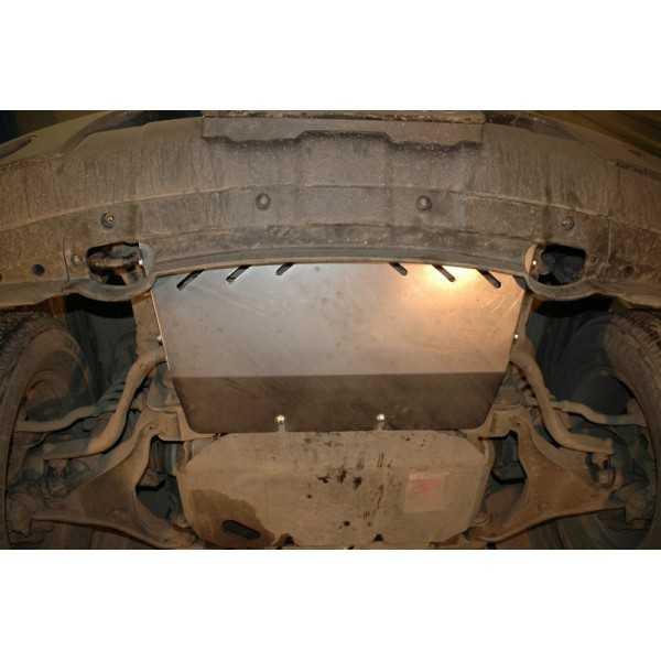 Blindage aluminium radiateur Nissan Navara D40-Pathfinder R51 de 07-2005 à 06-2010