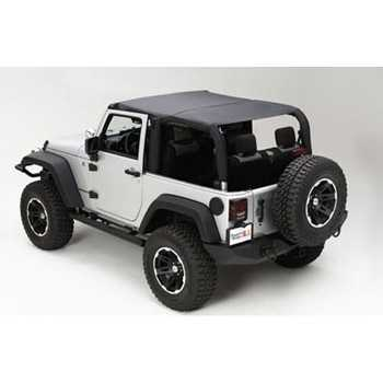 ISLAND TOPPER SOFT TOP NOIR JEEP JK 07-09 2 PORTES