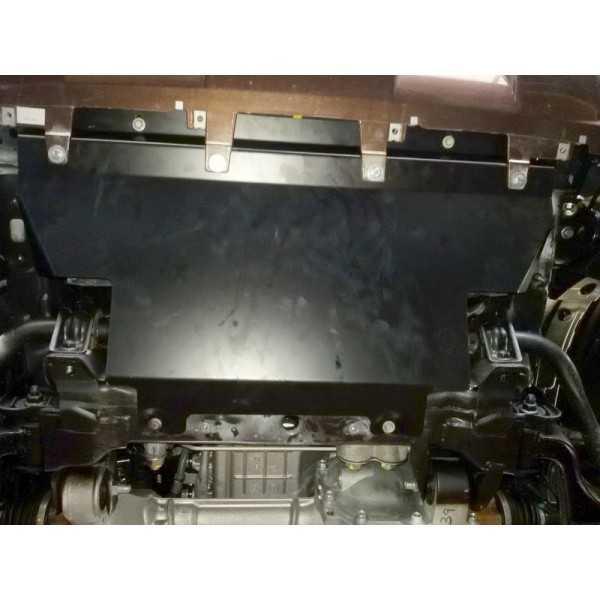 Blindage aluminium radiateur Nissan Navara NP300 2016-