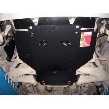 Blindage aluminium moteur Toyota HDJ100 1998-2007