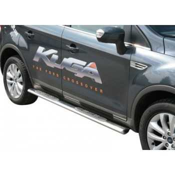 Marche pieds inox ovale FORD KUGA 2008-